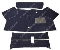 Austin Mini Van & Pick-Up (Front half only) 1960 to 1982 Carpet Set - Kensington Luxury Wool Range
